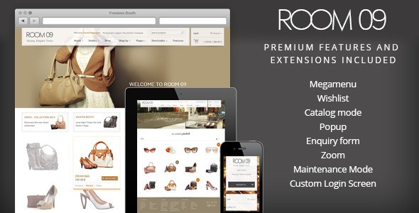 Room 09 Woocommerce fashion theme